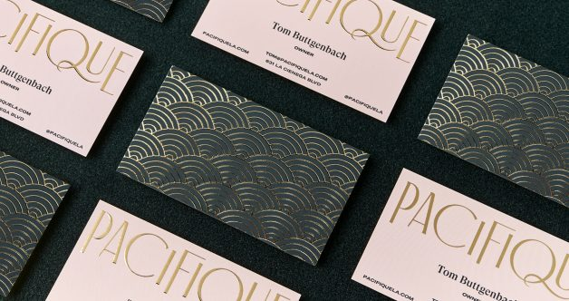 Pacifique Business Card,This is a placeholder
