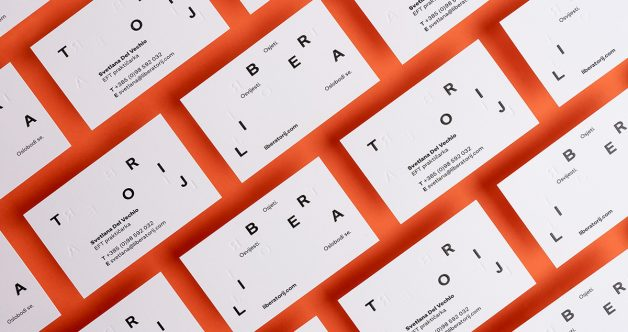 Liberatorij Business Card,This is a placeholder